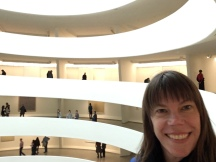 We always loved the Guggenheim, so it was a must